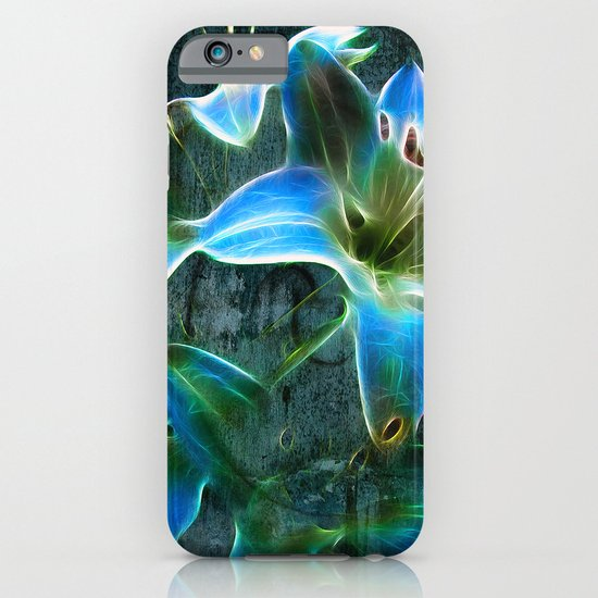 Lily Blue iPhone & iPod Case