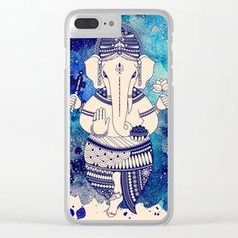 Shri Ganesha Clear iPhone Case