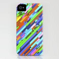 NeonGlitch 3.0 iPhone (4, 4s) Slim Case