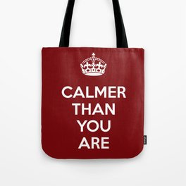 Keep Calm Lebowski Tote Bag