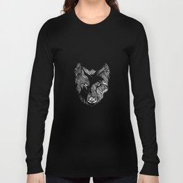The Wolf and The Raven Long Sleeve T-shirt
