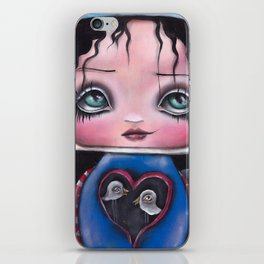 Camila and her Birds iPhone Skin