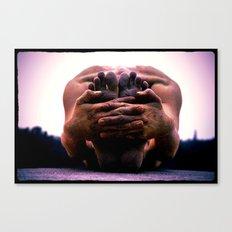 Yoga Asana Paschimottanasana B Canvas Print