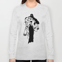 All Wounds Heal Time bw Long Sleeve T-shirt