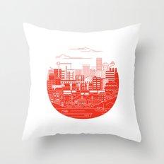 Rebuild Japan Throw Pillow
