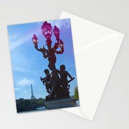 Paris, France - Light Refraction Stationery Cards