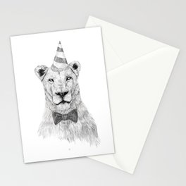 Get the party started Stationery Cards