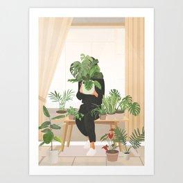 My Little Garden II Art Print