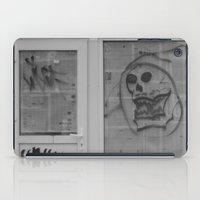 newspaper iPad Cases featuring Death's newspaper booth by Art Pass