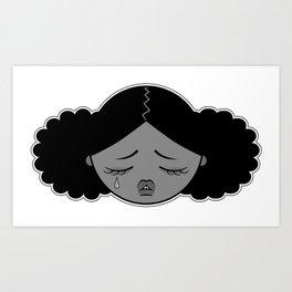 La petite larme Art Print
