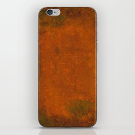 Weathered Copper Texture iPhone Skin
