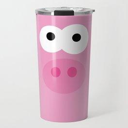 Minimal Pig Travel Mug