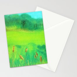 Greener Pastures Stationery Cards