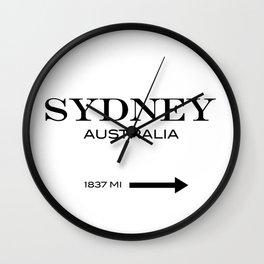 Sydney - Australia Wall Clock