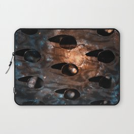 Cheese Grater Galaxy Laptop Sleeve