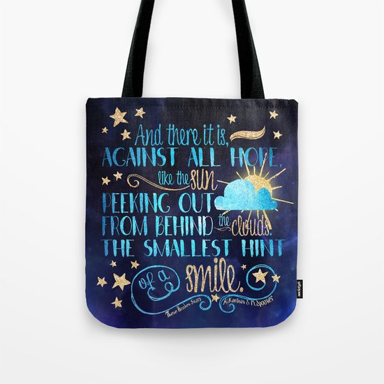 These Broken Stars - Smile Tote Bag