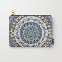 Frenchie Yoga Medallion Carry-All Pouch