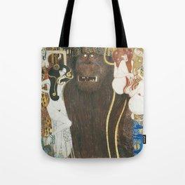Beethoven Frieze Gustav Klimt Tote Bag