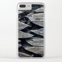 Broken but Beautiful Clear iPhone Case
