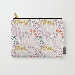 Floral Fields Pattern Design Carry-All Pouch