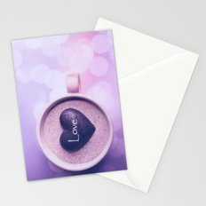 A cup of love Stationery Cards
