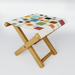Mid-Century Modern Art 1.3 Folding Stool