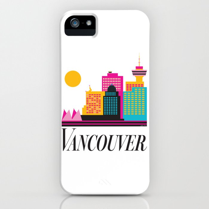 Vancouver Coal Harbour iPhone Case