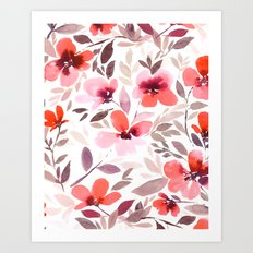 Espirit Blush Art Print