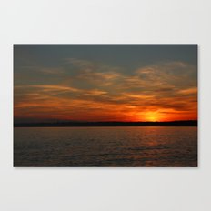 Setting Canvas Print