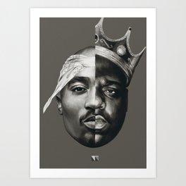 B.I.G/Pac Art Print