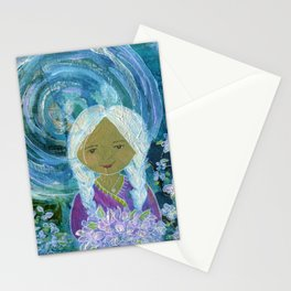Night in the Garden Stationery Cards