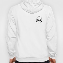 tiny alien Hoody