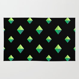 Emerald Diamonds Rug