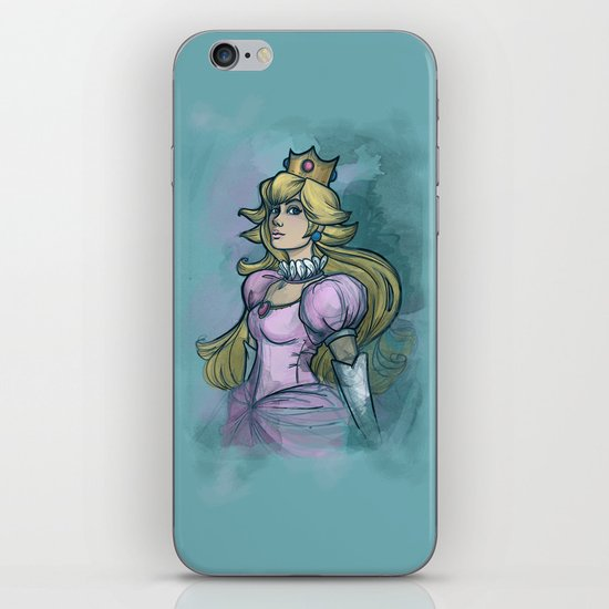 Princess Peach iPhone & iPod Skin