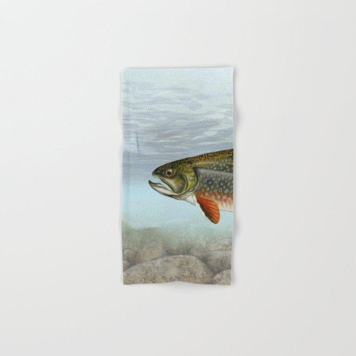 Lurking Fish Hand & Bath Towel