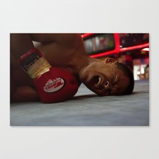 Down but Not Out. Canvas Print