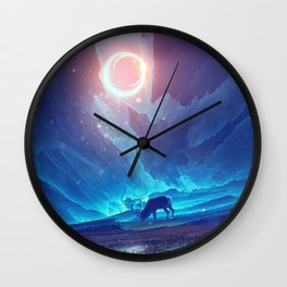 Stellar collision Wall Clock