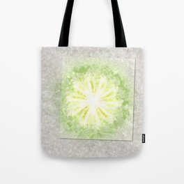 Triptychs Unveiled Flower  ID:16165-114729-45271 Tote Bag
