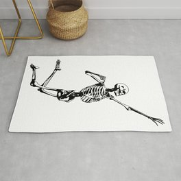 Jumping Skeleton Rug