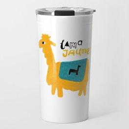 Lama Jaune Travel Mug