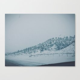 Snowy Montana Canvas Print