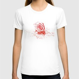 Over Exposed Rose T-shirt