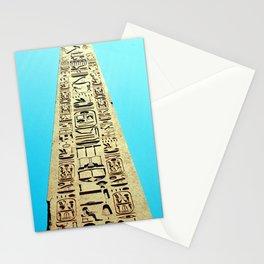 Egyptian Obelisk, Luxor, Egypt Stationery Cards