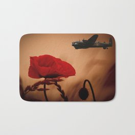 Avro Lancaster Memorial Bath Mat