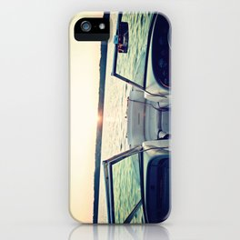 I'm on a Boat iPhone Case