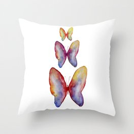 Romantic feeling Butterflies Collection Throw Pillow