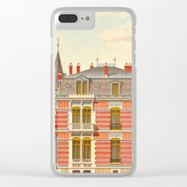 Brick constructions; ordinary brick from a decorative point of view - J. Lacroux and C. Détain - 187 Clear iPhone Case