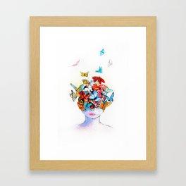 Beautiful life Framed Art Print
