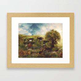 Under the Hill Framed Art Print