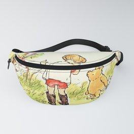 Cartoon Pooh Fanny Pack